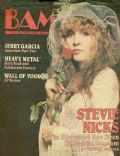 Stevie Nicks on the cover of Bam (United States) - September 1981