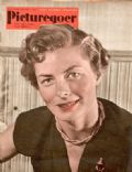 Ingrid Bergman on the cover of Picturegoer (United Kingdom) - September 1951