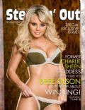 Bree Olson on the cover of Steppin Out (United States) - May 2011