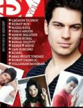 Burak Özçivit, Cagatay Ulusoy, Merve Bolugur, Murat Boz on the cover of Dyou (Turkey) - December 2011