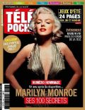 Marilyn Monroe on the cover of Tele Poche (France) - August 2012