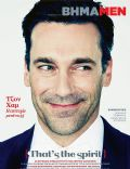 Jon Hamm on the cover of Vimamen (Greece) - December 2011
