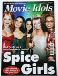 Emma Bunton, Geri Halliwell, Melanie Brown, Melanie Chisholm, Victoria Beckham on the cover of Movie Idols (United Kingdom) - May 1997