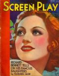 Joan Crawford on the cover of Screen Play (United States) - September 1931