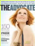 Cynthia Nixon on the cover of The Advocate (United States) - July 2010