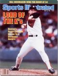 Roger Clemens on the cover of Sports Illustrated (United States) - May 1986