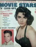 Elizabeth Taylor on the cover of Movie Stars (United States) - April 1959