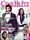 Deepika Padukone, Ranveer Singh on the cover of Cineblitz (India) - November 2013