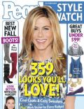 Jennifer Aniston on the cover of People Style Watch (United States) - October 2009