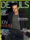 Jon Hamm on the cover of Details (United States) - October 2010