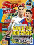 Cristiano Ronaldo, David Villa on the cover of Bravo Sport (Poland) - March 2011