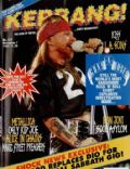 Axl Rose on the cover of Kerrang (United Kingdom) - November 1992