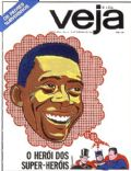 Pele on the cover of Veja (Brazil) - December 1968