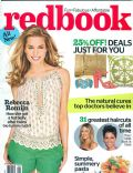 Rebecca Romijn on the cover of Redbook (United States) - August 2013