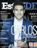 Carlos Rivera on the cover of Estilo Df (Mexico) - July 2014