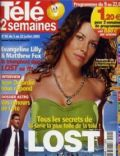 Evangeline Lilly on the cover of Tele 2 Semaines (France) - July 2005