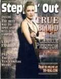 Carrie Preston on the cover of Steppin Out (United States) - June 2009