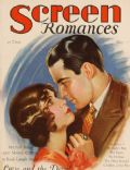 María Corda, Milton Sills on the cover of Screen Romances (United States) - May 1929