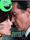 Antonio Banderas, Elena Anaya, The Skin I Live In on the cover of Expresiones (Ecuador) - June 2012
