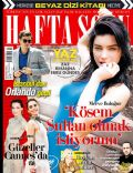 Cansu Dere, Merve Bolugur, Orlando Bloom, Saadet Aksoy, Siren Ertan on the cover of Haftasonu (Turkey) - May 2013