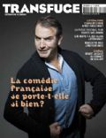 Jean Dujardin on the cover of Transfuge (France) - March 2012
