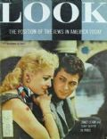 Janet Leigh on the cover of Look (United States) - November 1955
