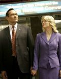Jimmy Smits and Teri Polo