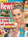 Malgorzata Socha on the cover of Rewia (Poland) - July 2013