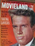 Warren Beatty on the cover of Movieland (United States) - April 1962