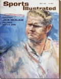 Jack Nicklaus on the cover of Sports Illustrated (United States) - June 1963