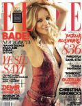 Bade Iscil, Nil Karaibrahimgil on the cover of Elle (Turkey) - June 2012