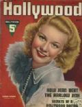 Ginger Rogers on the cover of Hollywood (United States) - May 1937