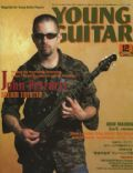 John Petrucci on the cover of Young Guitar (Japan) - December 2003