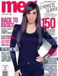 Empress Schuck on the cover of Meg (Philippines) - September 2011