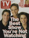 Matthew Fox, Neve Campbell, Scott Wolf on the cover of TV Guide (United States) - December 1995