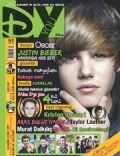 Aras Bulut Iynemli, Justin Bieber, Nil Karaibrahimgil on the cover of Dyou (Turkey) - April 2011