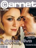 Madonna, Rupert Everett on the cover of Carnet (Italy) - May 2000