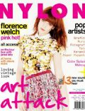 Florence Welch on the cover of Nylon (Indonesia) - August 2011