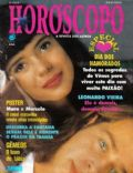 Mara Maravilha, Marcelo Rodrigues on the cover of Horoscopo Magazine (Brazil) - June 1992