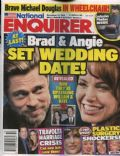 Angelina Jolie, Brad Pitt on the cover of National Enquirer (United States) - December 2010