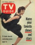 Nanette Fabray on the cover of TV Guide (United States) - February 1961