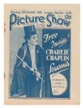 Charles Chaplin on the cover of Picture Show (United Kingdom) - December 1926