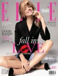 Lindsay Ellingson on the cover of Elle (North Korea) - February 2014