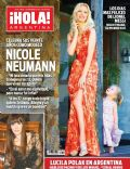 Nicole Neumann on the cover of Hola (Argentina) - November 2012