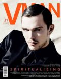 Nicholas Hoult on the cover of Vman (United States) - March 2014