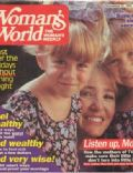 Ashley Olsen, Mary-Kate Olsen on the cover of Womans World (United States) - November 1992