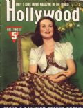 Deanna Durbin on the cover of Hollywood (United States) - August 1940
