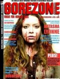 Natasha Lyonne on the cover of Gorezone (United Kingdom) - December 2009