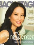 Lucy Liu on the cover of Backstage (United States) - February 2012