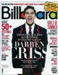 Darren Criss on the cover of Billboard (United States) - April 2011